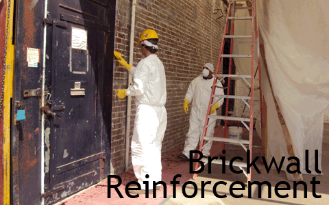 Brickwall Reinforcement